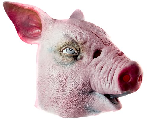 HMS Pig Realistic Animal Mask