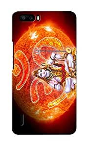 CimaCase Lord Shiva With Om Designer 3D Printed Case Cover For Huwaei Honor 6 Plus