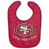 NFL Football Full Color Mesh Baby Bibs (San Francisco 49ers All Pro)