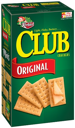 Club Crackers, Original, 16-Ounce Boxes (Pack of 3)