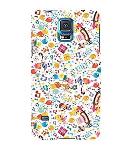 Birthday Baby Child 3D Hard Polycarbonate Designer Back Case Cover for Samsung Galaxy S5 Mini :: Samsung Galaxy S5 Mini G800F