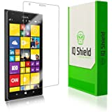 IQ Shield LIQuidSkin - Nokia Lumia 1520 Screen Protector - High Definition (HD) Ultra Clear Phone Smart Film - Premium Protective Screen Guard - Extremely Smooth / Self-Healing / Bubble-Free Shield - Kit comes with Retail Packaging and 100% Lifetime Replacement Warranty