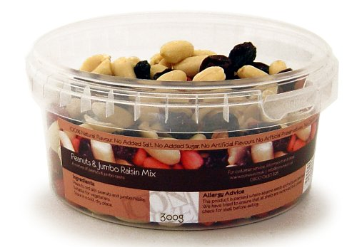 300g Peanuts and Jumbo Raisin Mix