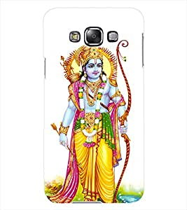ColourCraft Lord Rama Design Back Case Cover for SAMSUNG GALAXY GRAND 3