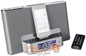 Sony ICF-DS15IPSN.CED Radio réveil avec station d'accueil AM/FM pour iPod/iPhone 5 Gris