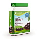 Acai Berry 1000mg 90 Capsules - Extreme Strength Diet Pills for Weight Loss Management & General Health - Premium GMP Supplement by Howard & James