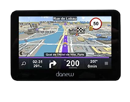 Danew GS270WE-PL GPS Ultra fin Écran 4,3""