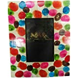 Home Decor Picture Frame Indian Vintage Style Handcrafted Material Resin Photo Frame Table Top Decorative Single...