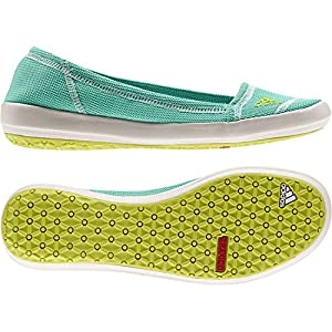 Adidas Women's Boat Slip-On Sleek Water Shoes - Bahia Mint/ Bahia Glow/ Chalk 12
