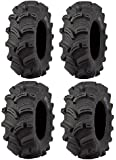 Full set of Kenda Executioner (6ply) 27x10-12 and 27x12-12 ATV Tires (4)