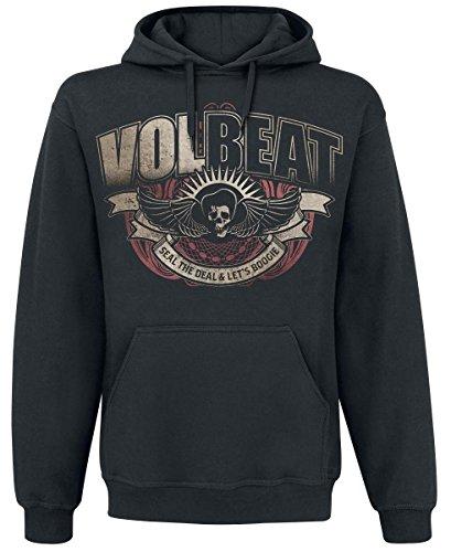 Volbeat King Felpa con cappuccio nero S