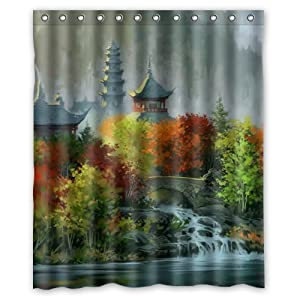 Asian Shower Curtains