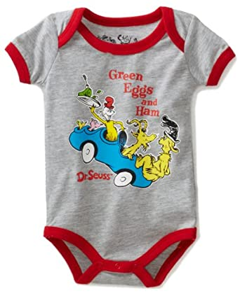 Amazon Dr Seuss Baby Boys Newborn Short Sleeve