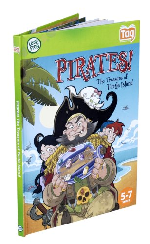 Leapfrog Tag Activity Storybook Pirates! The Treasure of Turtle Island - 1