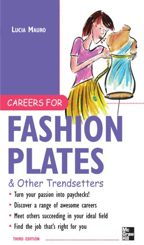 Careers for Fashion Plates & Other Trendsetters (Careers for You Series)