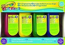 Comprar Crayola 3239 - 4 Pinturas De Dedos (150Ml X4)