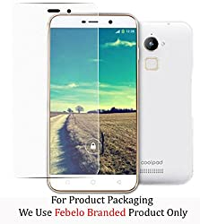 Febelo Branded 2.5D Crystal Clear 9H Ultra Thin Curve Edge Tempered Glass Screen Protector For Coolpad Note 3 Lite (5 Inch)