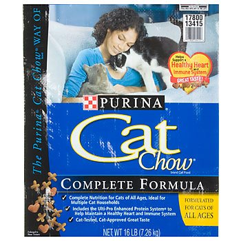 Image of Purina Cat Chow Dry Cat Food 16lb