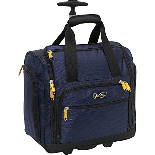 LUCAS Wheeled Under the Seat Cabin Bag EXCLUSIVE (Blue) (Ciao Under The Seat Travel Case compare prices)