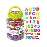 Letters & Numbers Magnet Whiteboard Magnets For Kids 78 Pcs