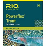 Rio Powerflex Trout Leader Freshwater Fly Line 1X 6-24643