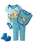 Disney Winnie The Pooh Infant Boys 4 PC Tigger Outfit Bodysuit Pants Bib & Socks