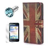 Lukoo® PU Case Tasche für Huawei Ascend Y330 Schutzhülle