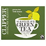 Clipper Fairtrade Green Tea with Lemon (80)