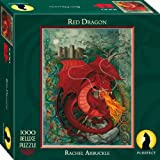 Purrfect Puzzles Red Dragon Puzzle (1000 Pieces)