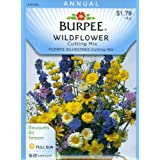 Burpee 44750 Wildflowers Cutting Mix Seed Packet