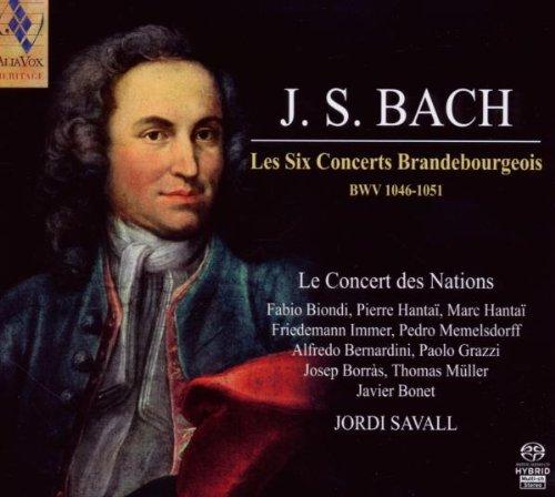 BACH,J.S. / LE CONCERT DES NATIONS / SAVALL
