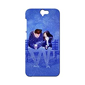 BLUEDIO Designer Printed Back case cover for HTC One A9 - G0884