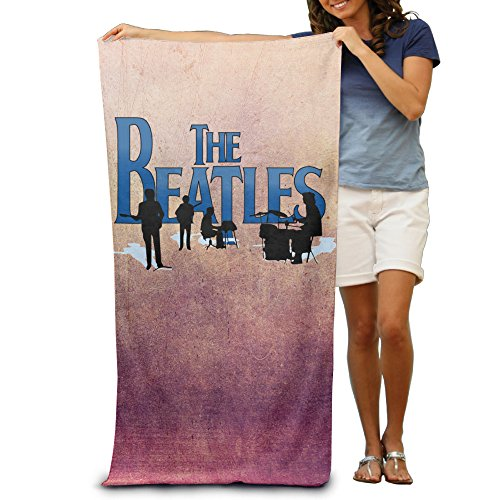 ^GinaR^ 300g The Beatles Band Lightweight Microfibre Towel