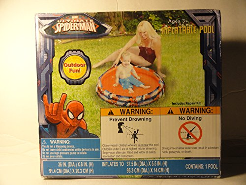 Ultimate Spider-man Inflatable Pool - 1
