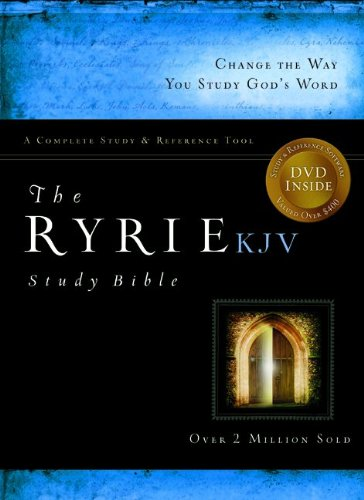 The Ryrie KJV Study Bible Bonded Leather Burgundy Red Letter (Ryrie Study Bibles 2008) PDF