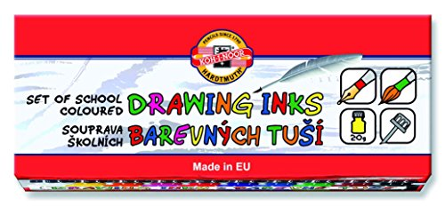 koh-i-noor-10-x-20-g-set-of-coloured-drawing-ink