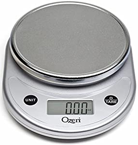 3X Ozeri Pronto Digital Multifunction Kitchen and Food Scale, Elegant Black