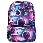 BEIER® DY0414 Blue Special Galaxy Backpack Shiny stars Men and women Student Schoolbag