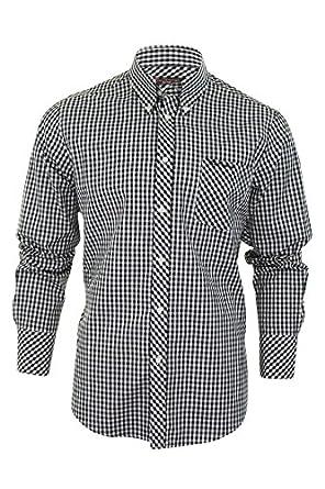 Ben Sherman Shirt 'WiltShire' Long Sleeve Gingham Check