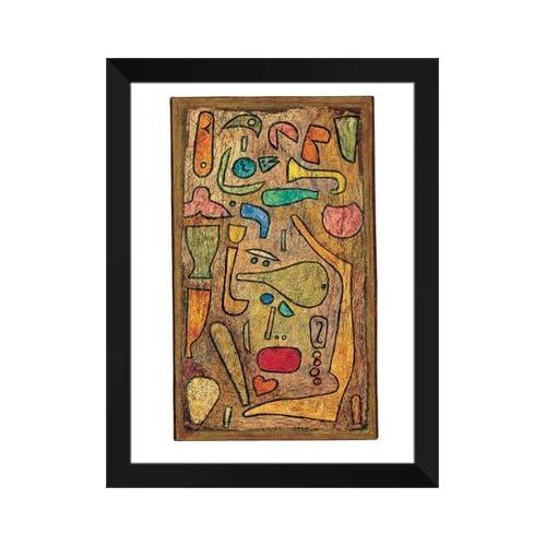 "Amazon.com: Paul Klee FRAMED Art Print 28x36 ""Kunterbunt, 1939"