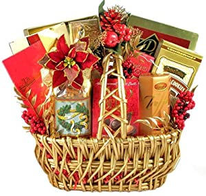 'Twas the Night Before Christmas Holiday Gourmet Food Gift Basket