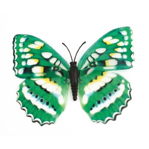 Kühlschrank Kühlschrank Tür Decor Schmetterling geformt magnetischen Aufkleber Grün
