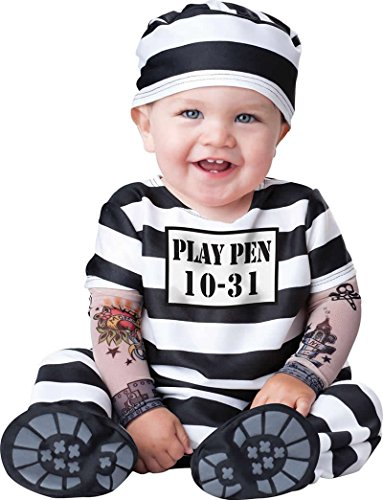 [In Character Costumes Time Out Infant / Toddler Costume] (Jail Costume For Kids)