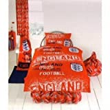 Official Red England Football Bedding Set Duvet Cover and Pillow Case