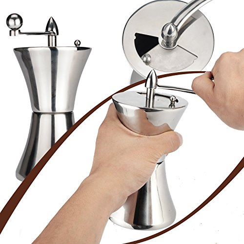 Hand Crank Kitchen Appliances: Manual Coffee Grinder, Stainless Steel Hand Coffee Bean