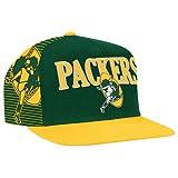 (ミッチェル&ネス)Mitchell & Ness NEW IMPROVE PRODUCTS Hunter NFL Laser Stitch Snapback メンズ商品(メンズ) - Green グリーン Bay Packers - Dark Green / Gold ゴールド 【並行輸入品】
