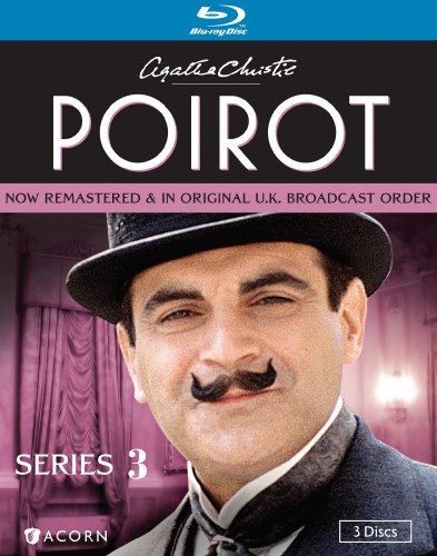 Cover art for  Poirot: Series Three [Blu-ray]