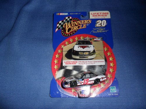 Tony Stewart # 15 1/64 scale diecast and collectible card Winners Circle Lifetime series 1996 Mariah Vision 3 Entertainment Pontiac Grand Prix #3 of 5