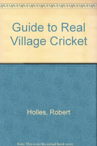 Guide to Real Village Cricket PDF