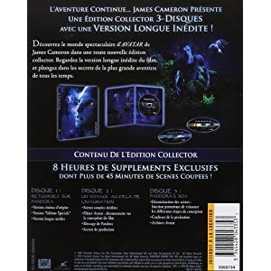 Avatar, version longue - Coffret collector 3 Blu-ray [Blu-ray] [Édition Co